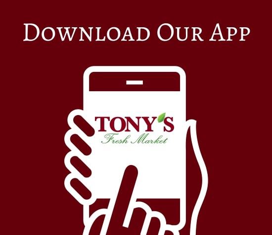 Download Tony's App