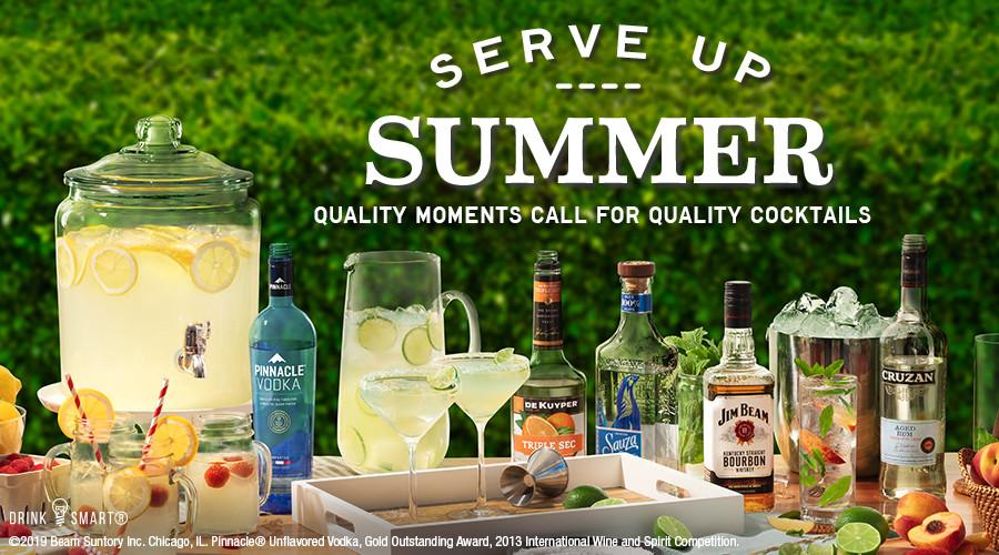 Tony's Fresh Market Summer Cocktails