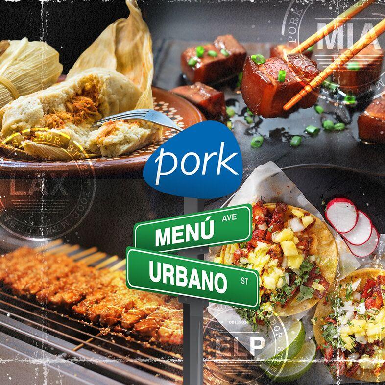 Menú Urbano Pork Recipes
