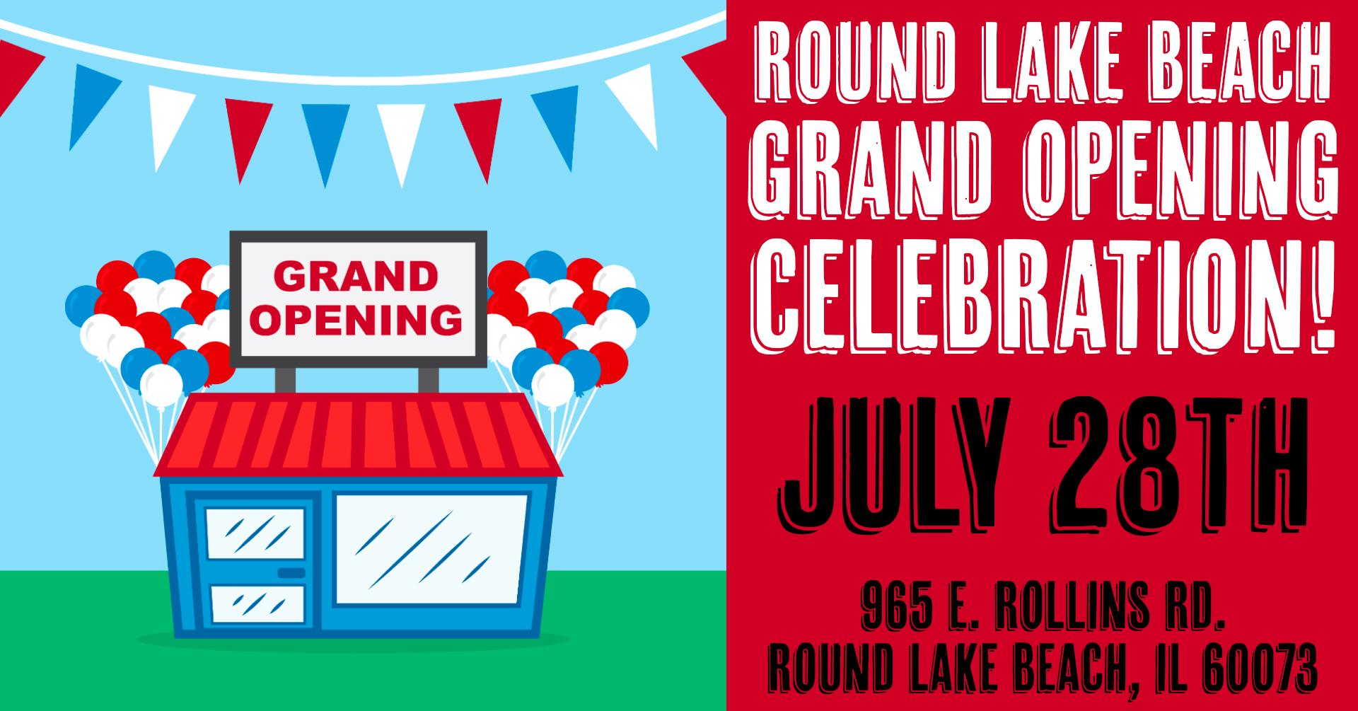 Round Lake Beach Grand Opening